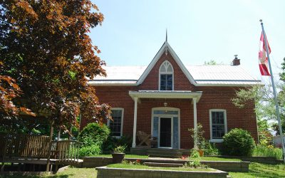 Red Brick Farmhouse